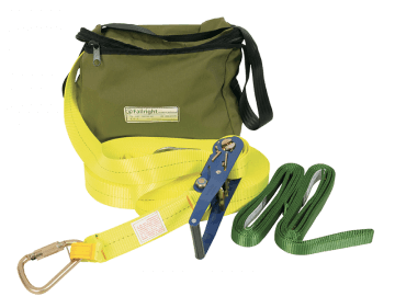 Saferight Temporary Lifeline Kit with Webbing