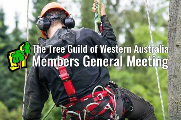 Tree Guild of Western Australia event poster