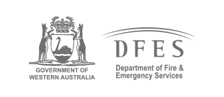 Logo for Saferight client testimonial from Department of Fire & Emergency Services