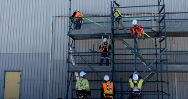Saferight facilitating Basic Scaffolding Ticket (CPCCLSF2001A) courses in Perth