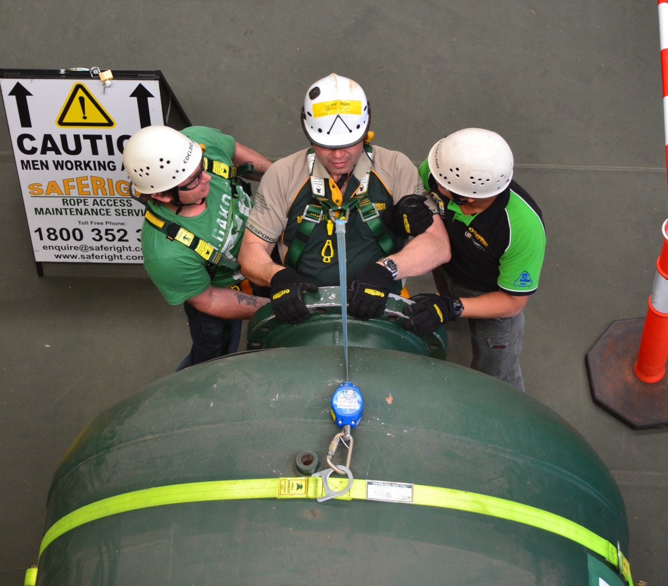 confined space entry training perth